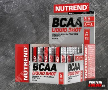 Nutrend BCAA mega  shot 20×60 ml
