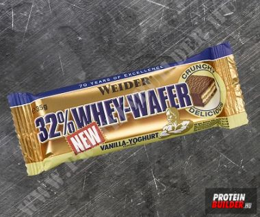 Weider Whey wafers bar