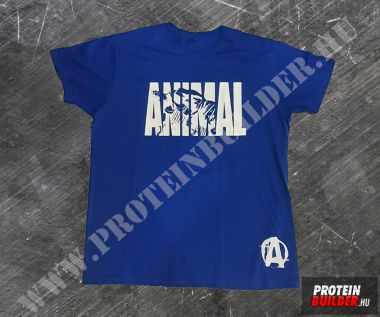 Animal T-Shirt Blue New
