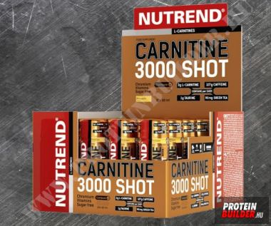 Nutrend Carnitine 3000 Shot New