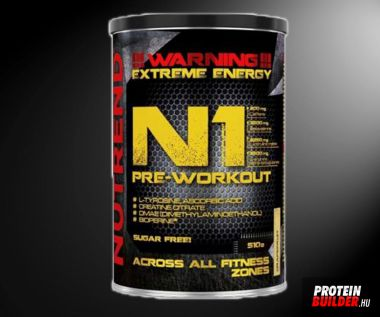 Nutrend N 1 Pre Workout 510 g