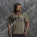 Gorilla Wear Classic Work Out Top Army Green