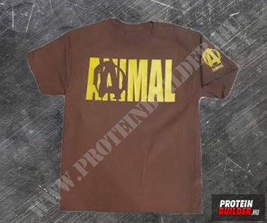 Animal 4 T-Shirt Brown
