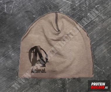 Animal Jersey Beanie Grey