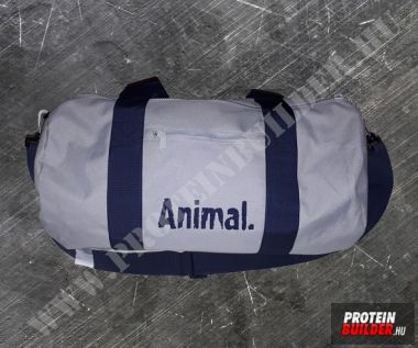 Animal Light Grey French Navy Barel Bag