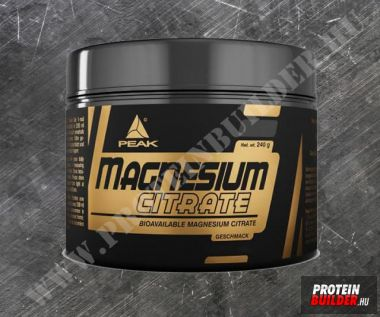 Peak Magnesium Citrate powder