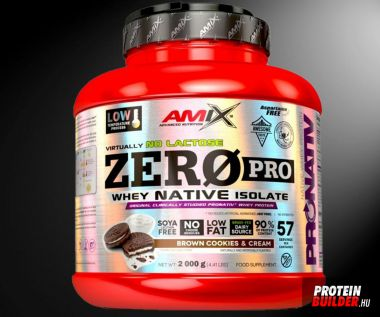 Amix Nutrition Zero Pro Native Whey Isolate 2000 g