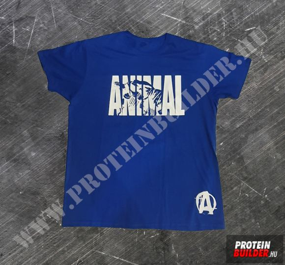 Animal T-shirt Extra Size Blue New
