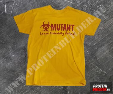 Mutant T-Shirt Yellow NEW Extra Size