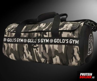 Gold Gym Camo Barell Bag