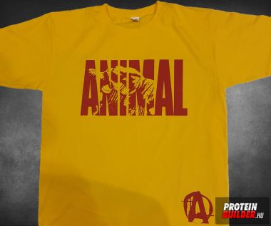 Animal 1 Yellow-Red T-shirt