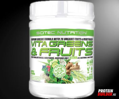 Scitec Vita Greens & Fruits 600 G