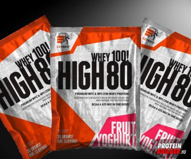 Extrifit High 80 whey 3×30 g